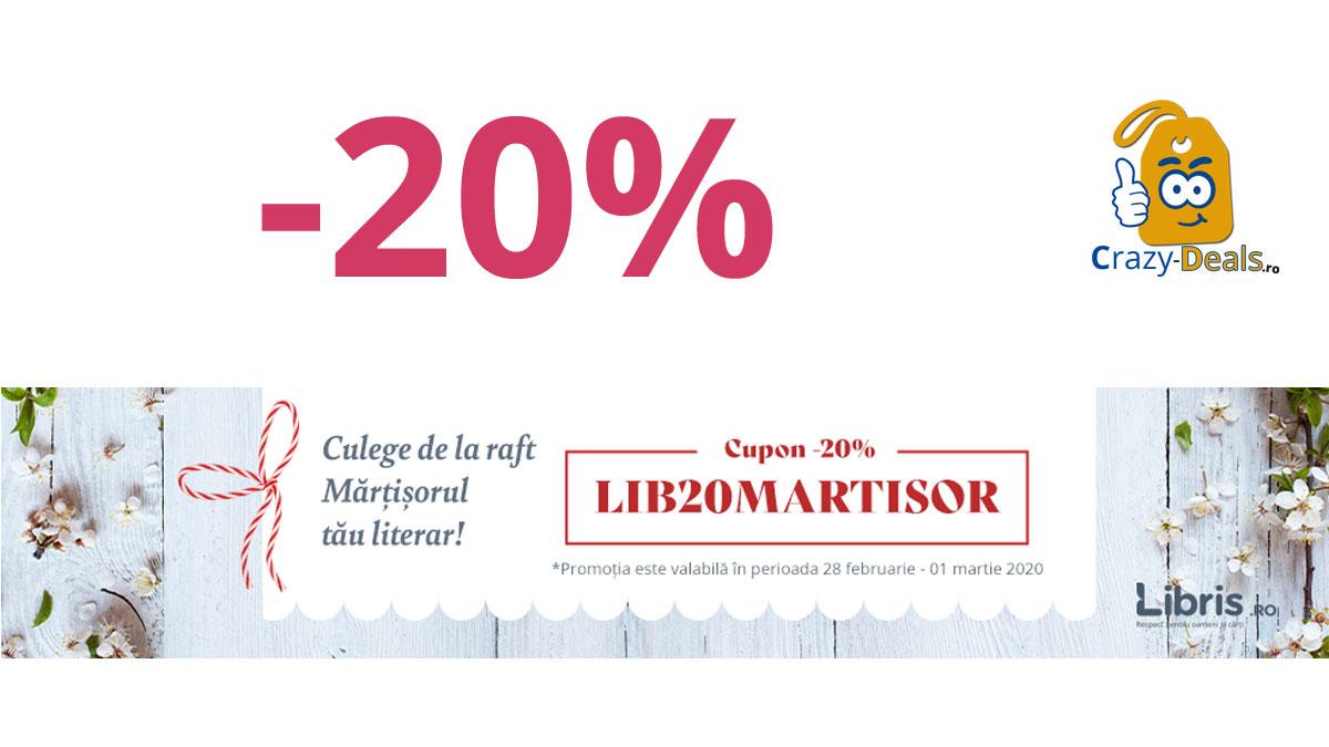 De Martisor, Cupon -20% REDUCER
