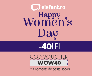 Happy Women's Day! 40 de lei extra reducere