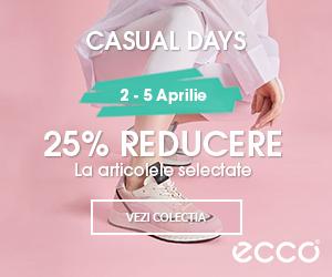 25% Reducere - Casual Days @ ECCO