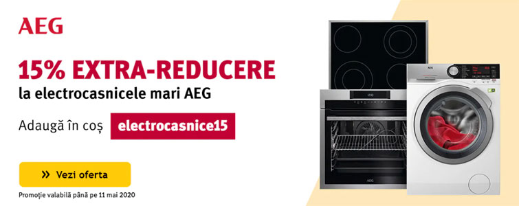 Altex extra reducere electrocasnice AEG