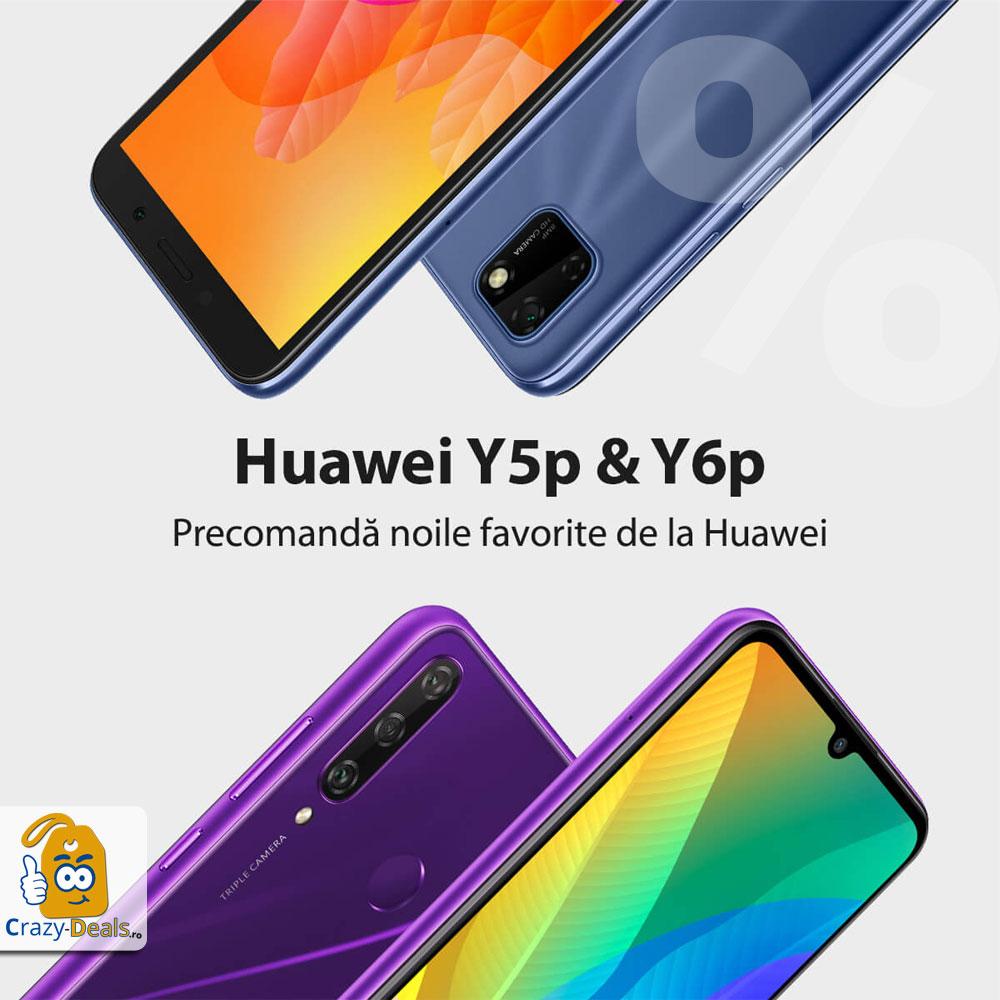 Noile Huawei Y5p si Y6p sunt diponibile la precomandă pe EuroGsm