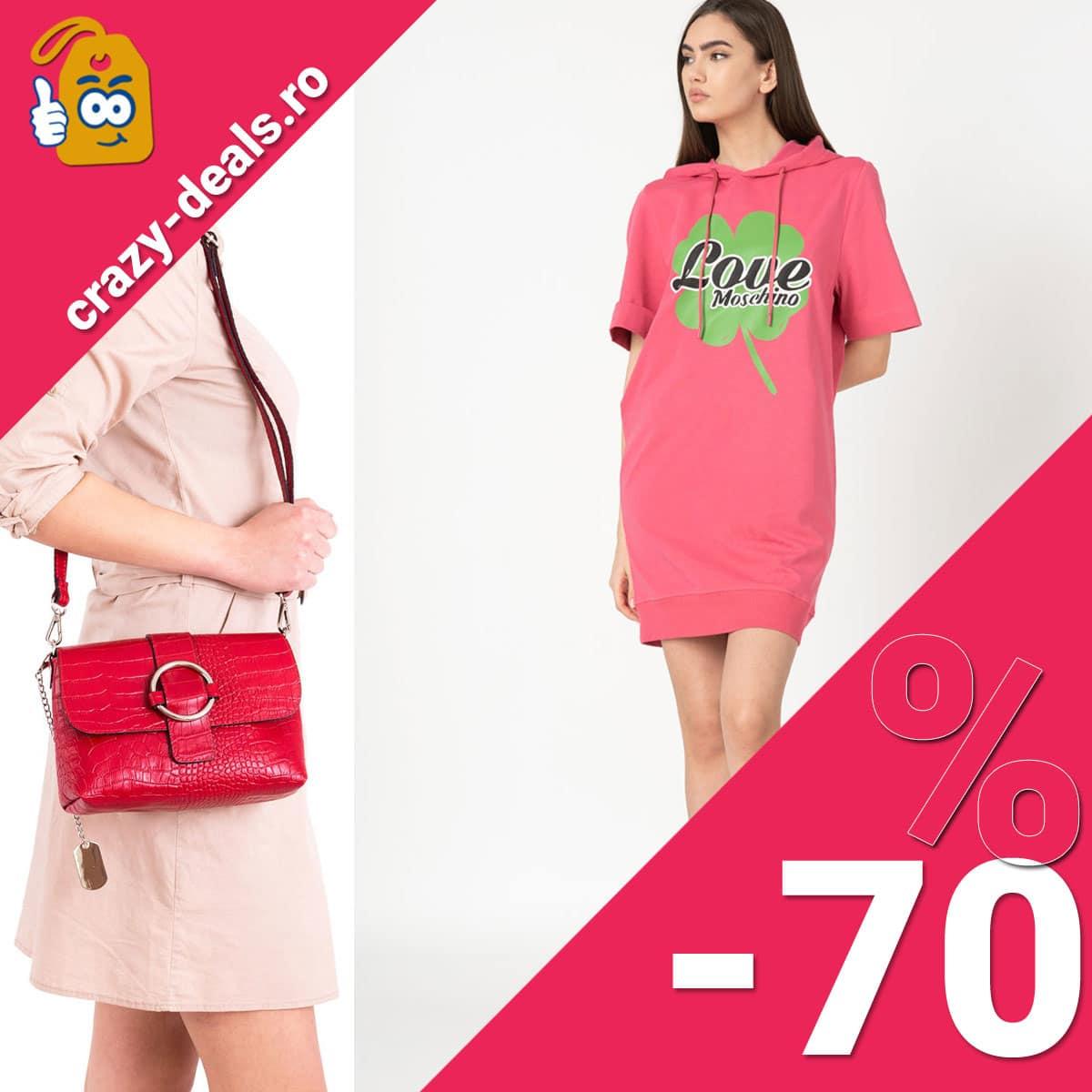 Articole fashion reduse cu pana la 70% pe Fashion Days