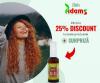 Reduceri -25% la toate produsele Adams Vision + GRATUIT Ulei de Ricin!