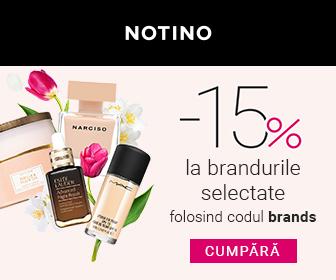 Cod Reducere Notino 15% la TOP produse cosmetice