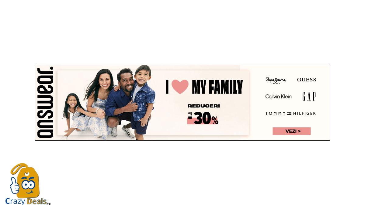 Promotie Answear I love my family! - pana la 30% reducere
