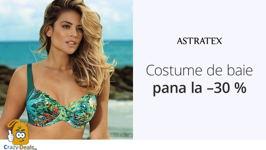 Costume de baie cu pana la -30% reducere pe Astratex