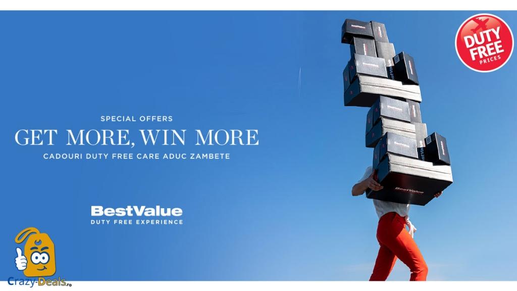 Get more, win more pana la 35% discount pe BestValue