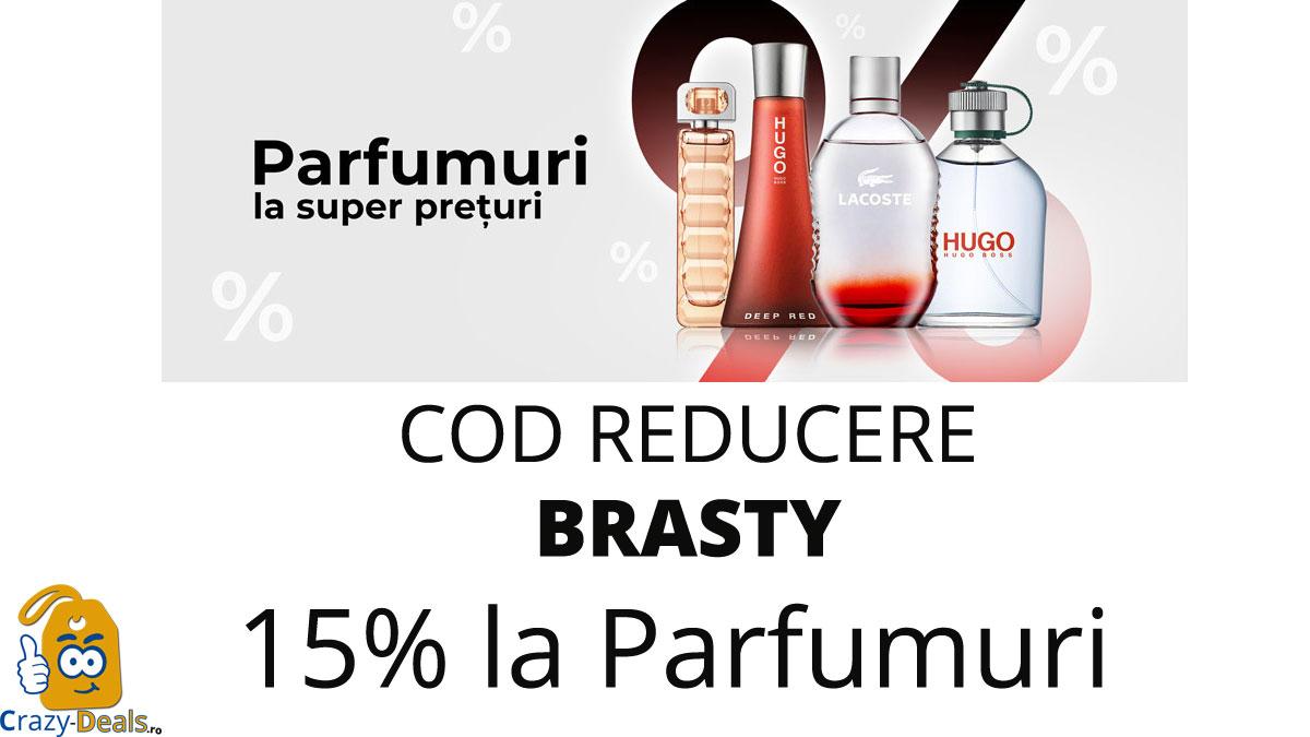 Cod reducere 15% la parfumuri de nisa pe BRASTY