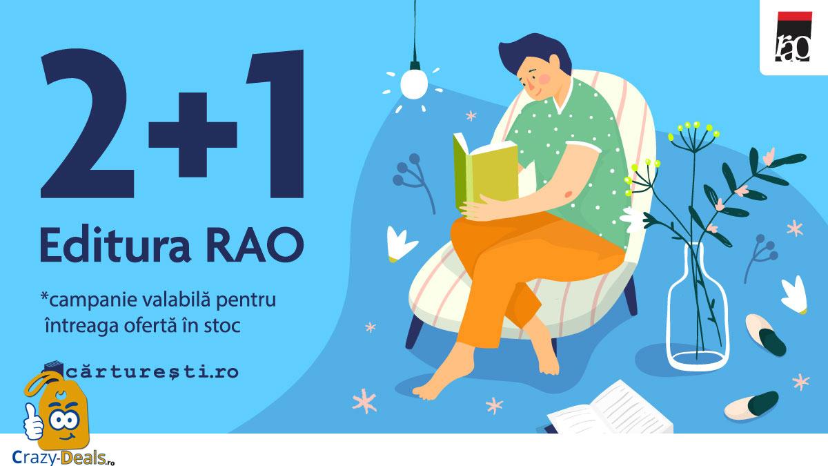 Promotie Carturesti Titlurile RAO 2+1