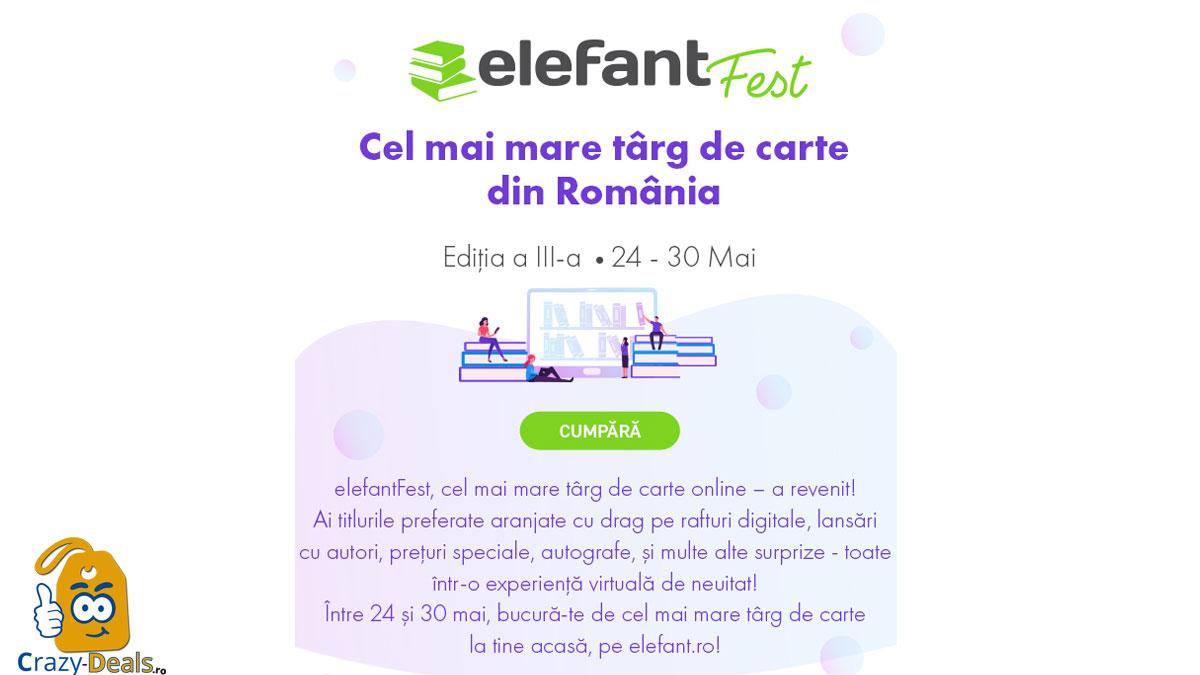 elefantFest editia a III a - cel mai mare targ de carte online