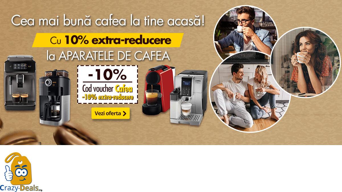 Cod Voucher 10% Extra-Reducere la Aparate de cafea pe Flanco