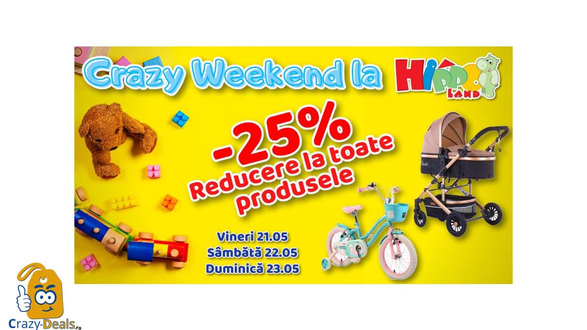Promotie HippoLand Crazy Weeked - 25% discount
