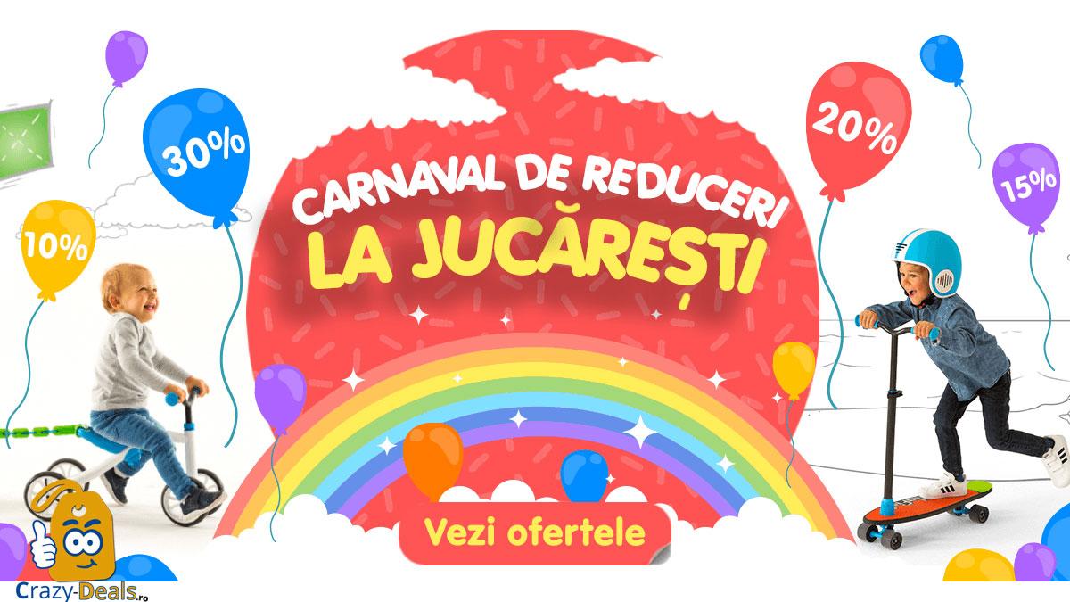Carnaval de Reduceri la Jucaresti