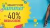 Ready for Summer - Reduceri pana la -40% la TOT pe Meia