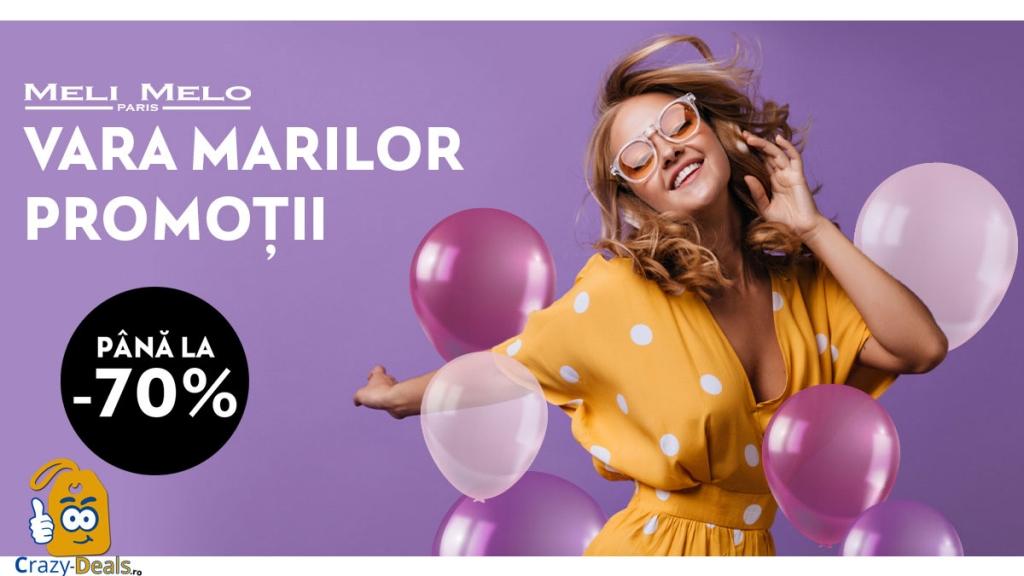 Promotii de Vara 70% pe Meli Melo Paris