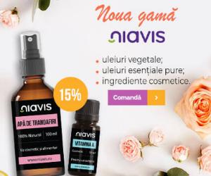 Promotie Vegis -15% reducere la noua gamă Niavis pentru înfrumusețare și răsfăț!