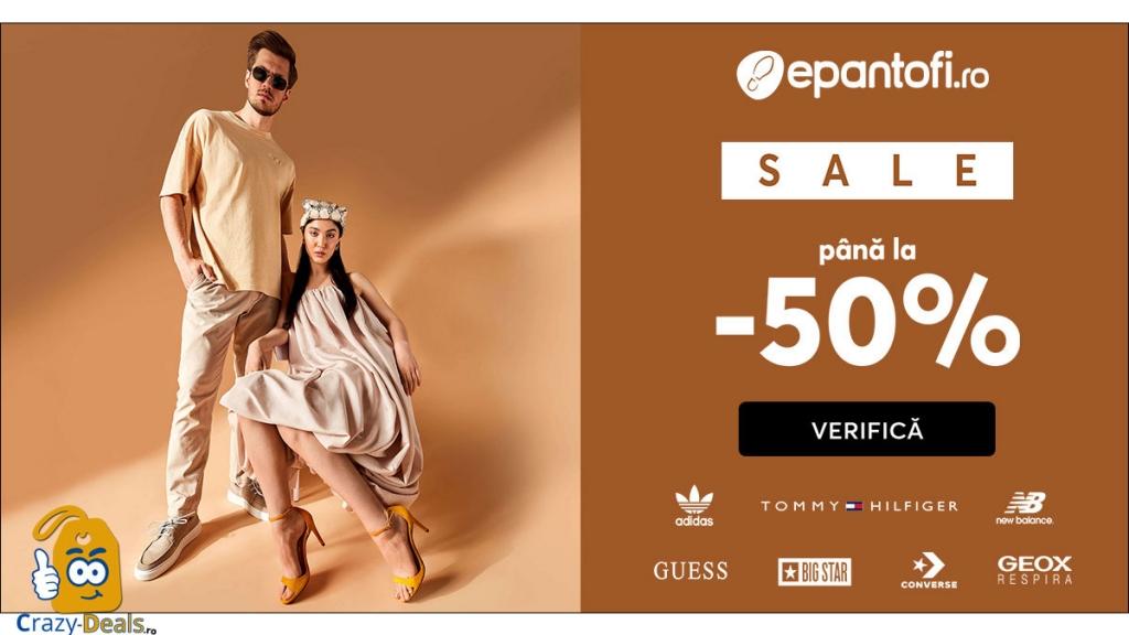 ePantofi SALE până la -50% la mii de produse de marcă