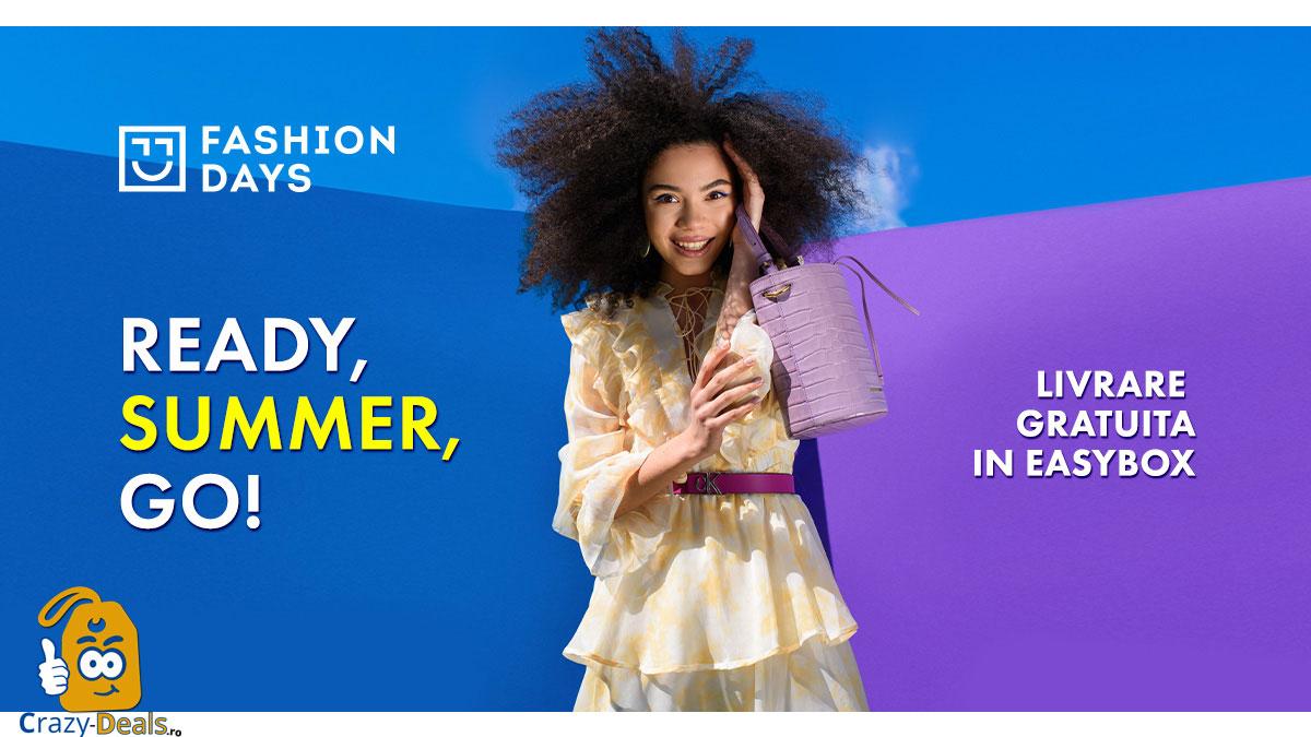 Promotie FashionDays Ready, Summer, Go!