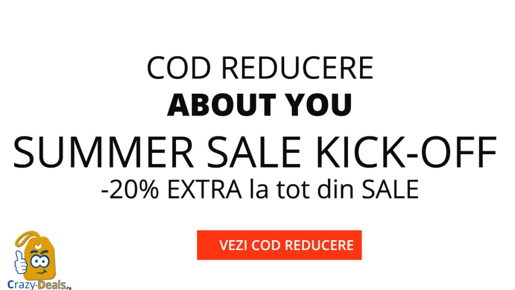Cod Reducere ABOUTYOU -20% EXTRA la TOT din SALE