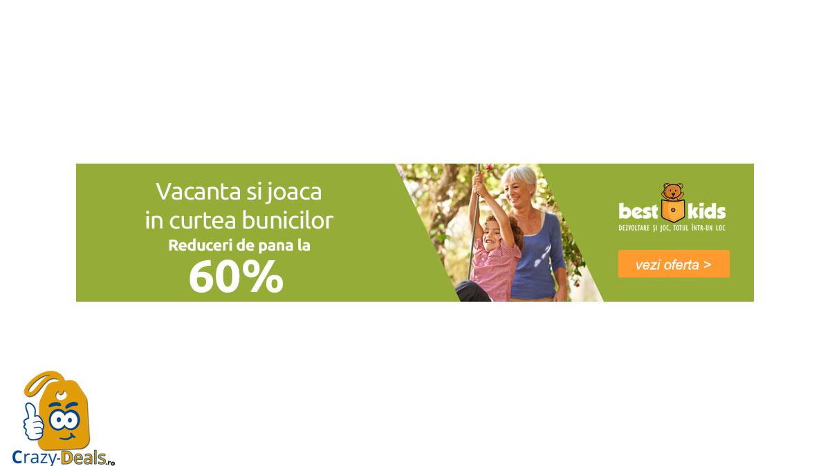 Vacanta in curtea bunicilor! Reduceri de pana la 60% la jucarii de exterior pe BestKids