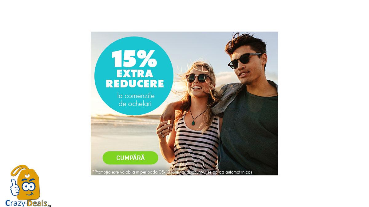 15% EXTRA reducere la ochelarii de soare pe Elefant