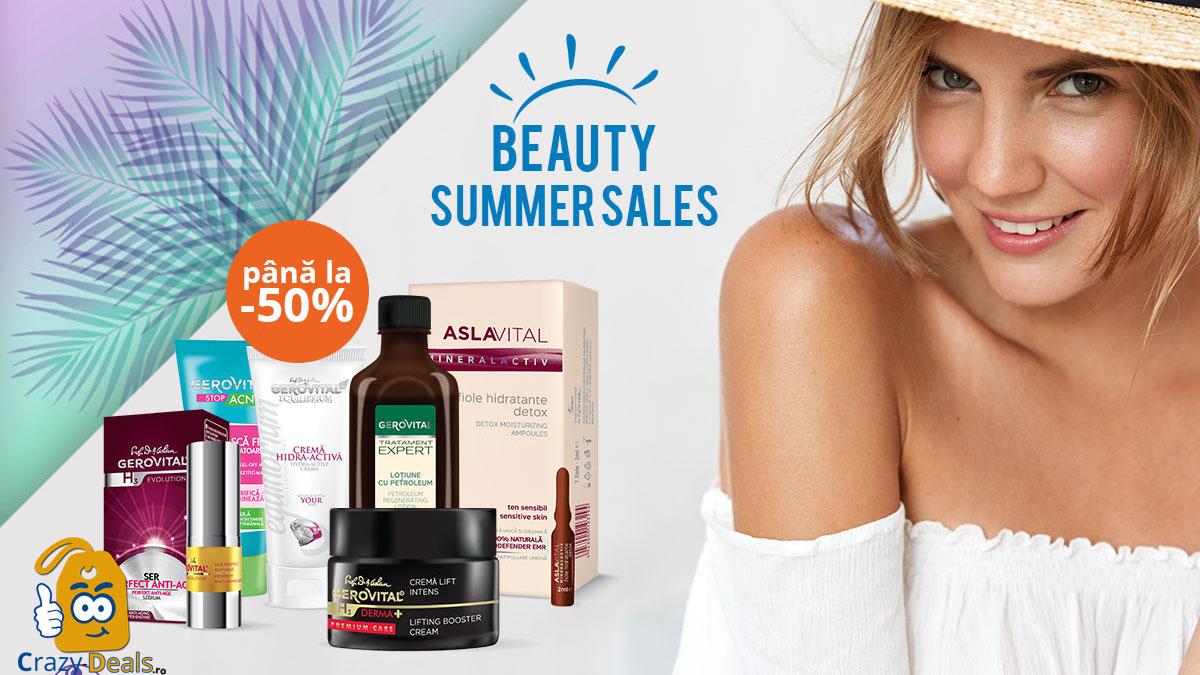 Beauty Summer SALES Până la 50% REDUCERE pe Farmec