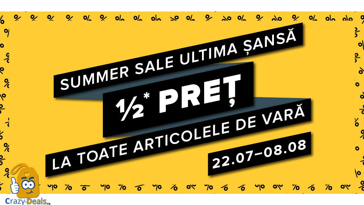 Hervis Summer Sales - ultima sansa la reduceri de vara! -50%