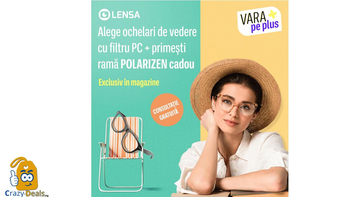 Ochelari de vedere cu filtru PC + ramă Polarizen CADOU