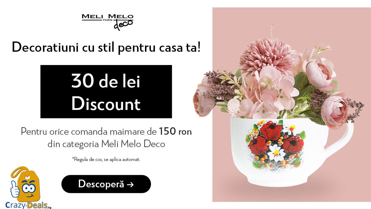 Decoratiuni cu stil - 30 Ron discount pe MeliMeloParis