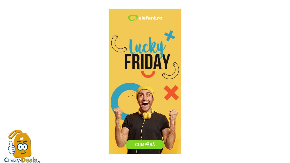 Promotie Elefant - Lucky Friday
