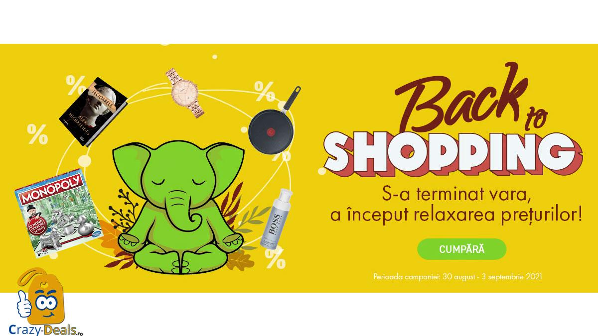 Promo Back to Shopping pe Elefant -70%