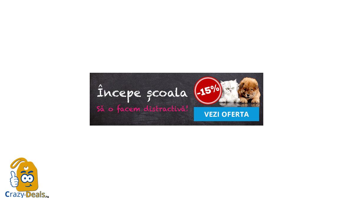 15% discount - Back to school pet friendly - Promotie Fera