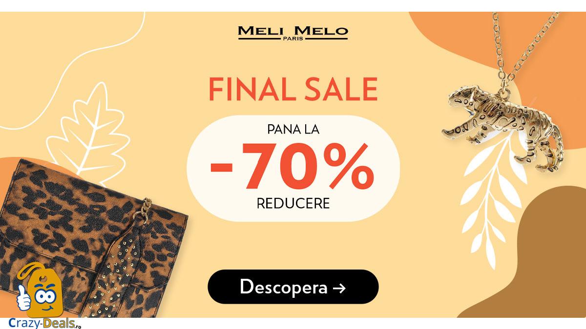 Promotie MeliMeloParis - Final Sale - Reduceri de pana la - 70 %