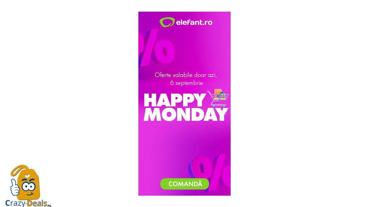 Happy Monday - promotie Elefant -85%