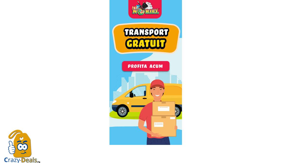 Transport Gratuit | 6 - 8 Septembrie pe Noriel