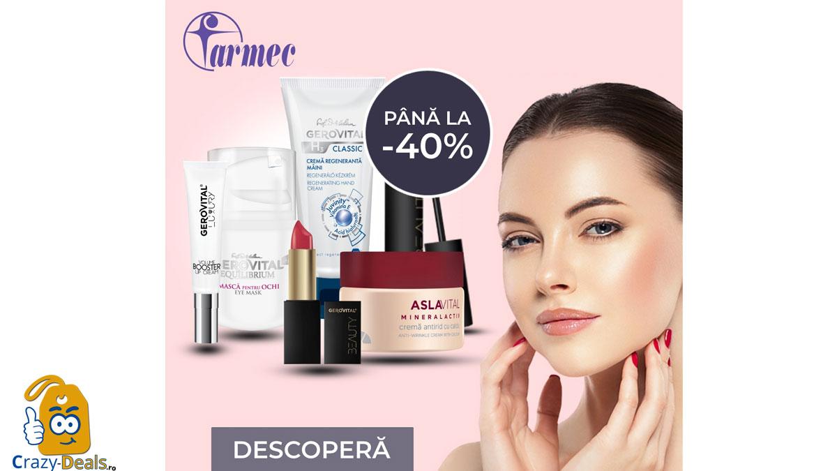Promotie Farmec Până la 40% REDUCERE - Beauty Summer SALES