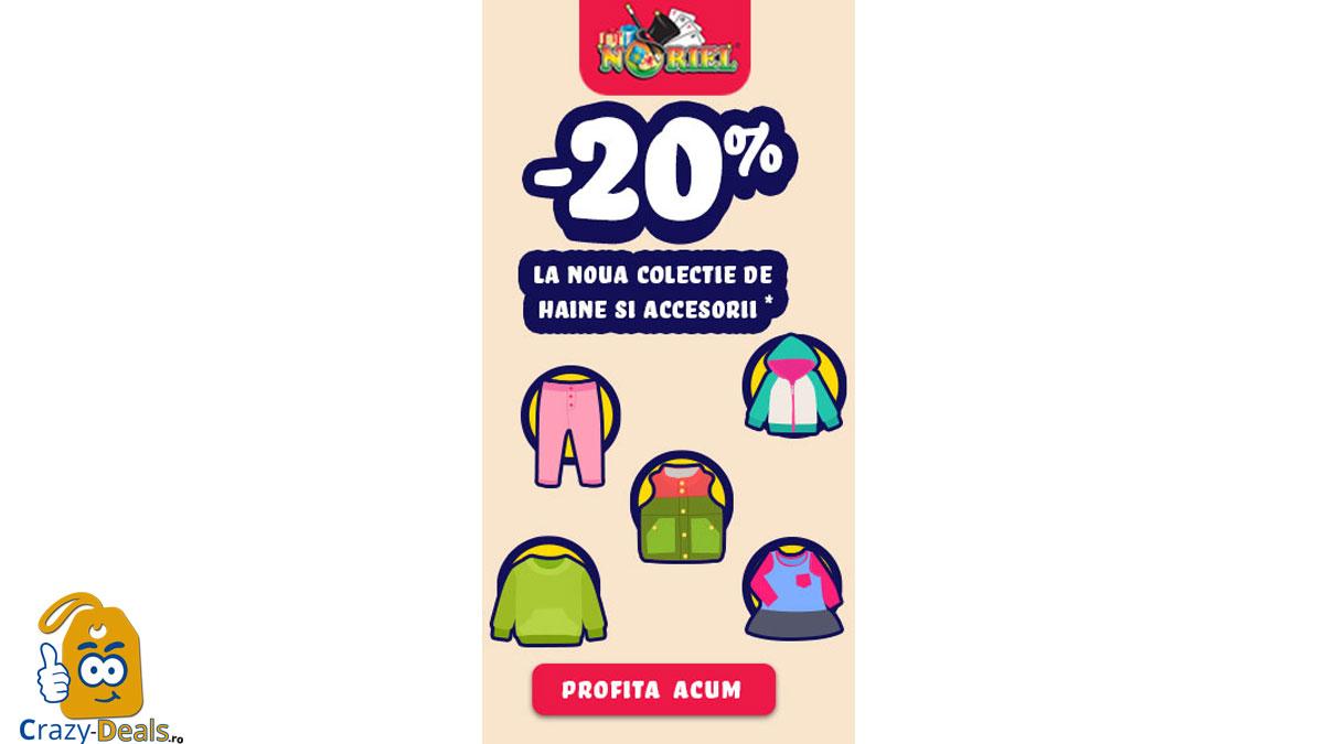 Promotie Noriel Back to School - Reduceri Haine Copii -20% -60%