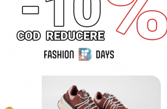 Cod reducere FashionDays EXTRA -10% OFF la SNEAKERS