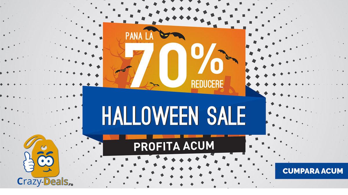 Halloween Sale -70% reducere pe HaineDeVis