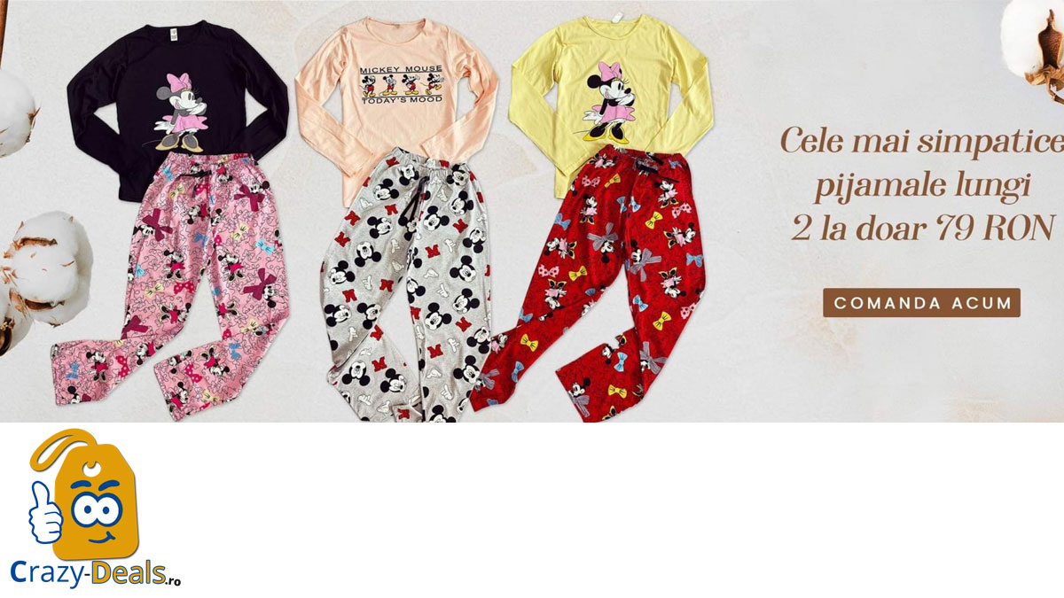 Promotie Maroko 2 pijamale la 79 ron