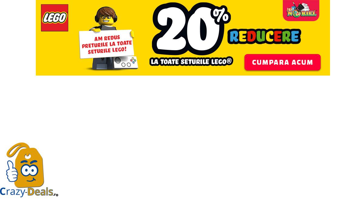 Reduceri LEGO pe Noriel Cel putin 20% Reducere la toate Seturile LEGO