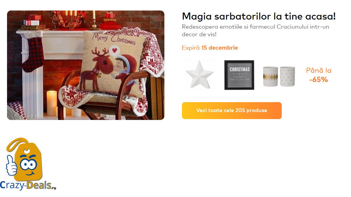 Promotie Somproduct Magia sarbatorilor la tine acasa pana la -65%