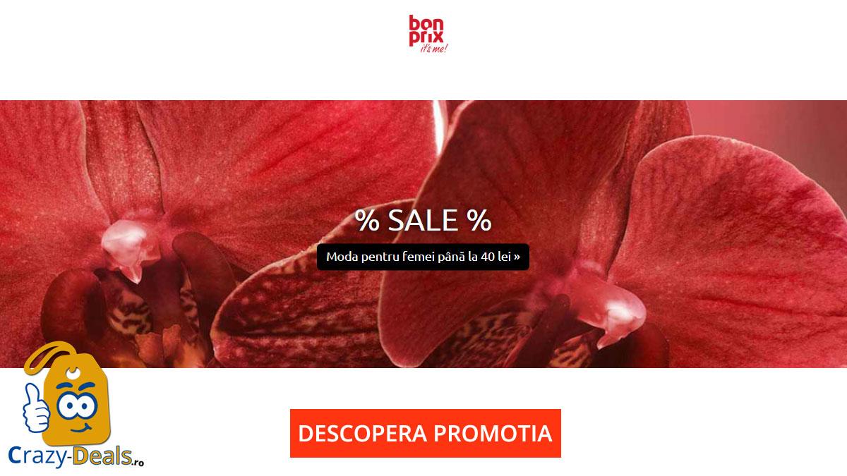 Bonprix SALE -moda pentru femei - preturi pana in 40 lei