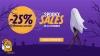 Halloween Spooky Sales - 25% REDUCERE la produsele selectate pe Sosetaria
