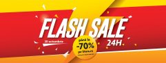 Flash Sales 24 h, azi pe Litera, pana la 70% reducere