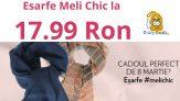 Esarfe Meli Chic la 17.99 Ron si Martisoare minunate